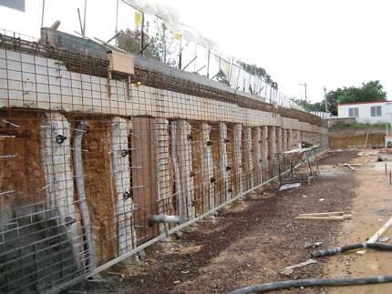 Concreting, Footings, Basements