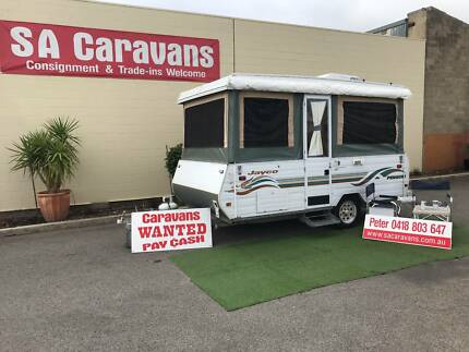 Jayco Penguin Camper with Air Conditioning
