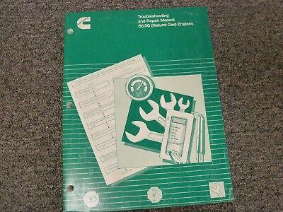 Cummins B5.9g Natural Gas Engine Troubleshooting Shop Service Repair Manual