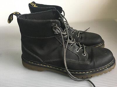 Dr. Martens Black Leather Boots Mens 13 US / 47 EU / 12 UK