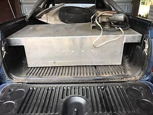 Diesel portable fuel tank with motor and hose Midvale Mundaring Area Preview