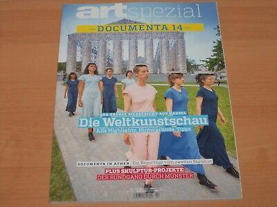 art spezial Documenta 14 Die Weltkunstschau Ausgabe 2017 ungelesen!