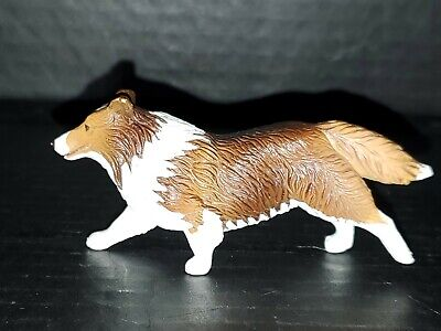 "Breyer Shetland Sheepdog ""Lassie"" Companion to Dog Agility Set 2001 RARE used"