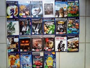 PS2 Various Playstation 2 Games Individual Prices $5-$30