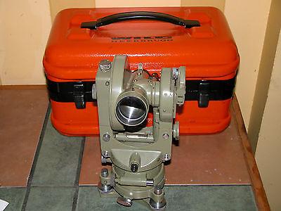Leica Wild Heerbrugg Rds Surveyor Swiss Theodolite Self-reducing