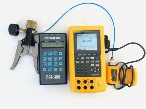 Meri Cal OMEGA PCL-200D Precision Pressure Calibrator 72PSI GUARANTED CALIBRATED
