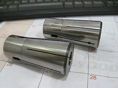2 Nikken Vmk 32 Collets Vmk32-34 Vmk32-1-14 Precision Cnc Used Collet