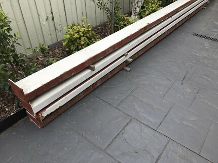C section steel beams