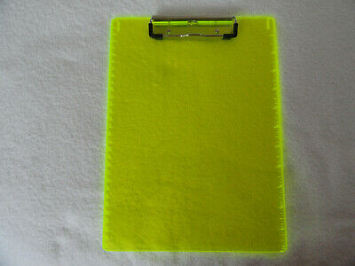 Magic Neon Green Clipboard By Saunders New 8 12 X 12 Free Shipping
