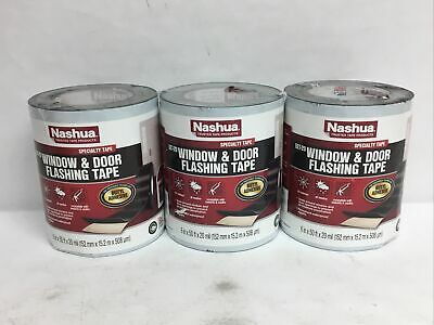 Nashua Flashing Tape 6 In. X 50 Ft. Window And Door Specialty All Weather