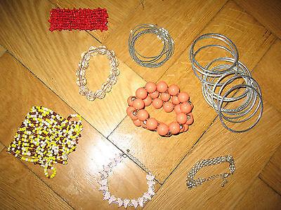 Sammlung Armbänder Armreifen u.a. ZARA H&M C&A Bijou Brigitte gebraucht kaufen  München