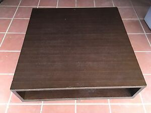 Coffee table - dark brown Tempe Marrickville Area Preview