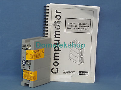 Parker Compumotor Oem675t Servo Drive Controller New