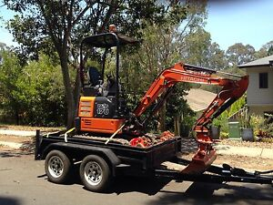 For hire Hitachi 1.7T mini excavator Brendale Pine Rivers Area Preview