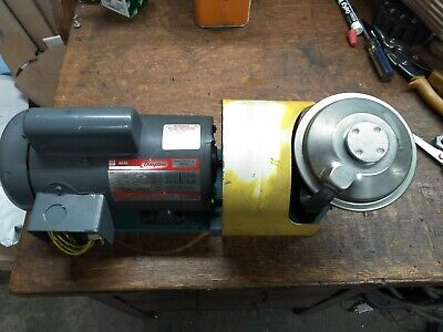 Dayton 13 Hp Electric Motor With Vacuum Pump Assembly 115230vac