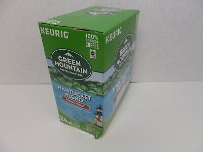 Green Mountain Nantucket Blend Coffee Keurig K-Cups, 24 count, 02/2021