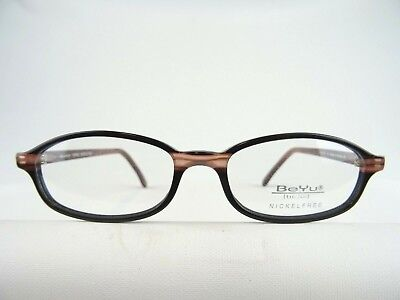 Oval Glasses for the Small Face Damenfassungen Black / Braun Size S 50 (Spectacles For Oval Face)