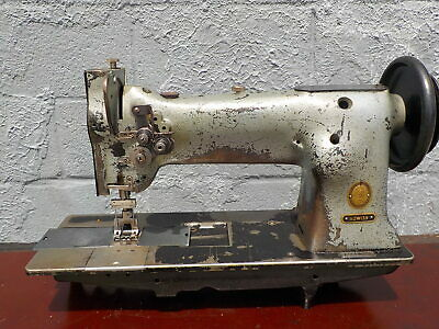 Industrial Sewing Machine Singer 112w139 Walking Foot Two Needle -leather