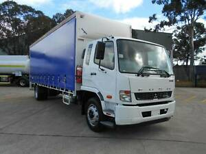 ** 2013 FUSO FIGHTER 1627 AUTO 12 PALLET CURTAINSIDER ** Arndell Park Blacktown Area Preview