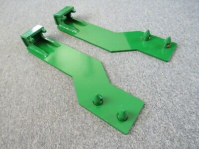 Tractor Loader Quick Tach Weld On Mounting Brackets Fits John Deere - Free Ship