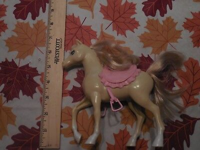 Barbie's Pony w pink saddle. Great condition! Great toy! Great gift! Mattel.