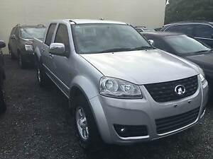 2013 GREAT WALL V200 (2WD) DUAL CAB DIESEL (64,000KMS 1ONR) Rochedale South Brisbane South East Preview