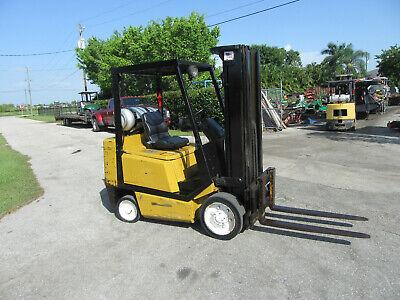 Yale Glc050 5000 Lb Forklift Propane Side Shift - Lift 188 - 3 Stage