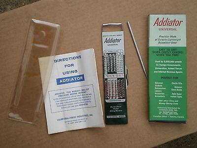 Addiator Hand Calculator - Still in the Original Box -- never been used