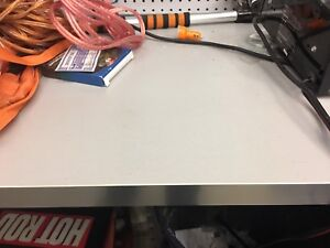 Brand new countertop - perfect for the garage/shop