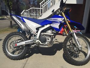 2016 WR250R almost new