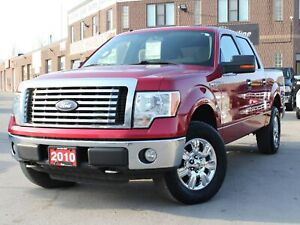 2010 Ford F-150 XLT XTR 4X4 SuperCrew 4.6L V8