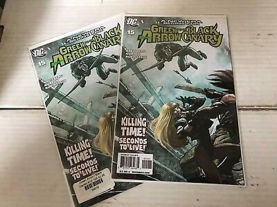 GREEN ARROW BLACK CANARY (DC Comics 2007) #15 NM 1st Appearance Cupid Flash
