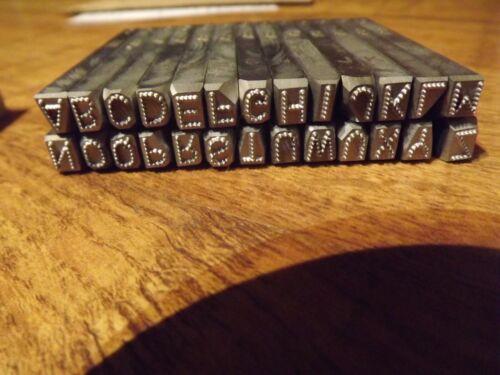 Harley  VIN letters Set 3/16  set dot
