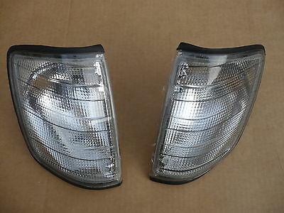 Blinker schwarz dunkel grau tuning für MB Mercedes E Klasse W124 links + rechts