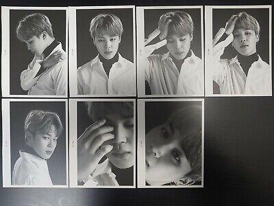 [Official] BTS FACE PHOTO COLLECTION [THE WINGS TOUR] JI MIN 7pcs