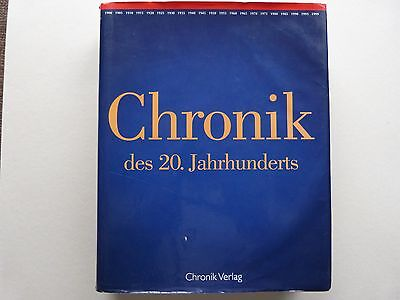 Die Chronik, Geschichte des 20. Jahrhunderts bis 1999