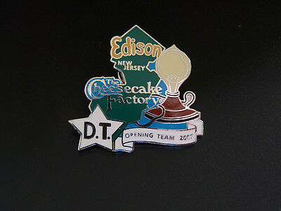 Cheesecake Factory Edison Opening Team 2002 Dt Pin