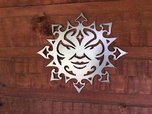Southwest Sun Face Metal Wall Art Home Decor Outdoor Patio