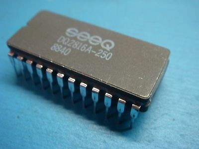 Dq2816a-250 2kx8 16k 250ns 24 Pin Ceramic Dip Eeprom Ic Seeq New Usa Seller