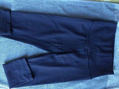 LULULEMON align leggings crop blue - US 4 UK 8. No bobbling