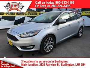 2015 Ford Focus SE, Automatic, Heated Seats, Bluetooth, 21, 000k