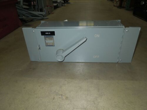 Westinghouse Fdp Unit Fdps364r 200a 3p 600v Single Fusible Panelboard Switch