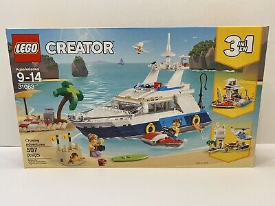LEGO Creator 3 In 1 Crusing Adventures Set 31083 Brand New Factory Sealed Nice !