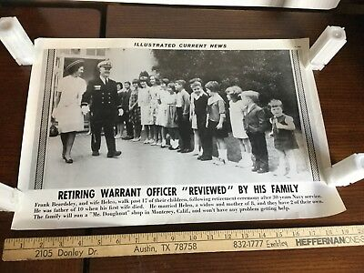 Illustrated Current News Photo - Navy Military Beardsley Doughnut Monterey CA
