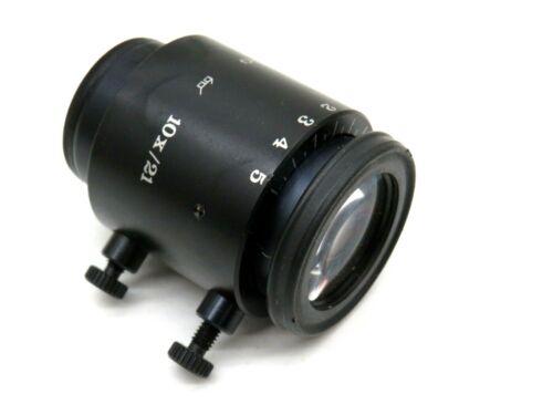 WILD HEERBRUGG 10x/21 Objective Lens