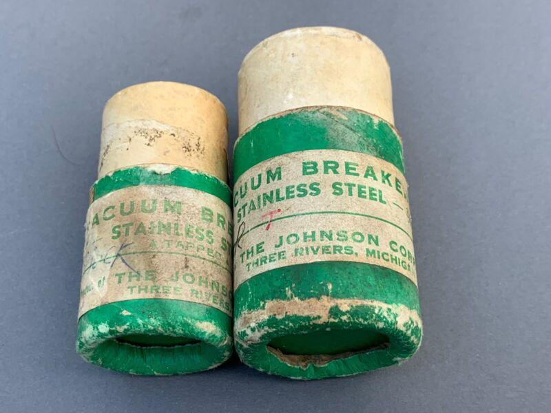 """NOS Vacuum Breaker VB-8 Stainless Steel 1/2"""" 3/4"""" Johnson Corp lot"""