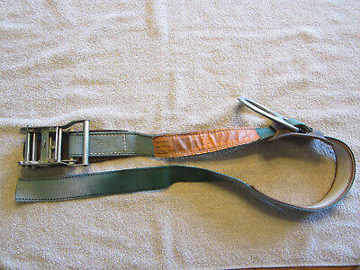 Short Ratchet Strap With Tieoff Ring....used