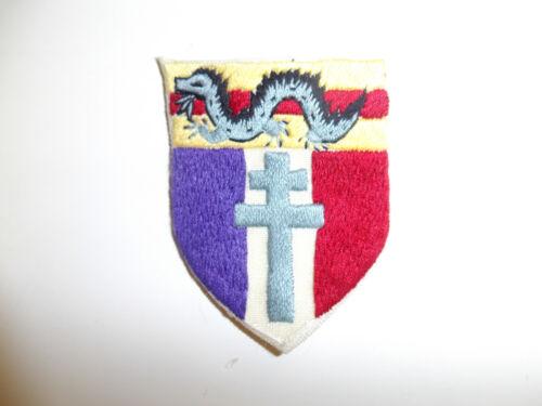 0485 WW 2 Free French Forces in China Burma India CBI R2A