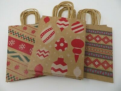 Christmas Holiday Gift Bags 24 Pieces 9