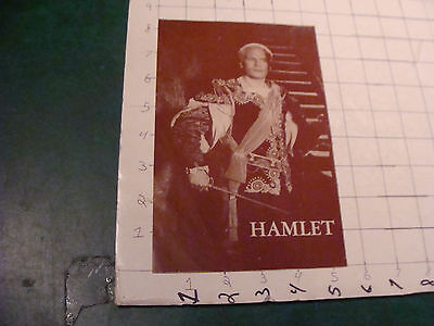 vintage Theatre item: Laurence Olivier presents HAMLET undated but early